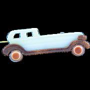 Vintage Signed Lea Stein Automobile Brooch