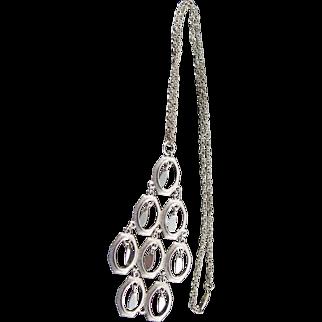 Vintage Long Pendent Necklace