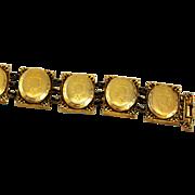Beautiful Hattie Carnegie Locket Bracelet