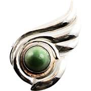 Stylish Taxco Sterling Brooch