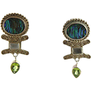 SALE   Sajen Sterling Vintage Earrings