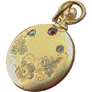 Antique Gold Plated Pendent