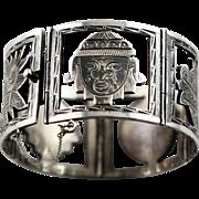 Handmade Sterling Marked Mexico Sterling Bracelet