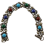 Vintage Florenza Renaissance Inspirational Style Bracelet