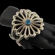 Vintage Heavy Sterling Man's Bracelet