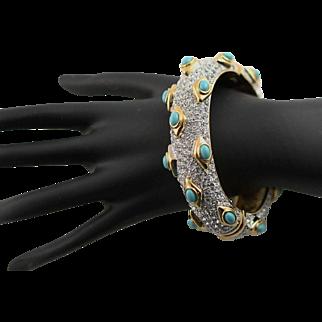 Fabulous Bangle Kenneth Jay Lane Bracelet