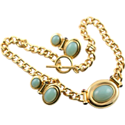 The Taylored Line By Elizabeth Taylor For Avon Including A Necklace & Earrings