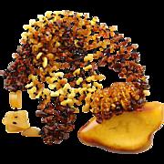 Unbelievable Handmade Amber Necklace