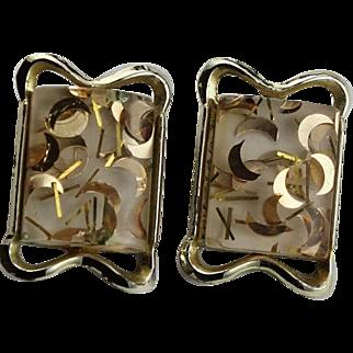 Mid Century Confetti Earrings