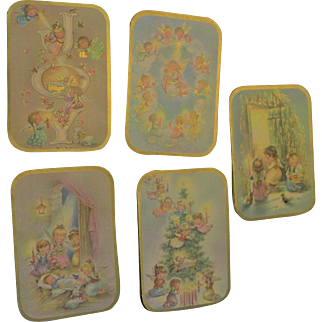 Vintage Box Christmas Cards