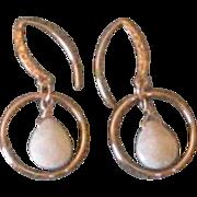 Designer Made 14KGF & Opal Earrings