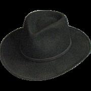 Handsome Men's Black Pendleton Hat