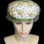 Daisy '60's Walter King Vintage Hat