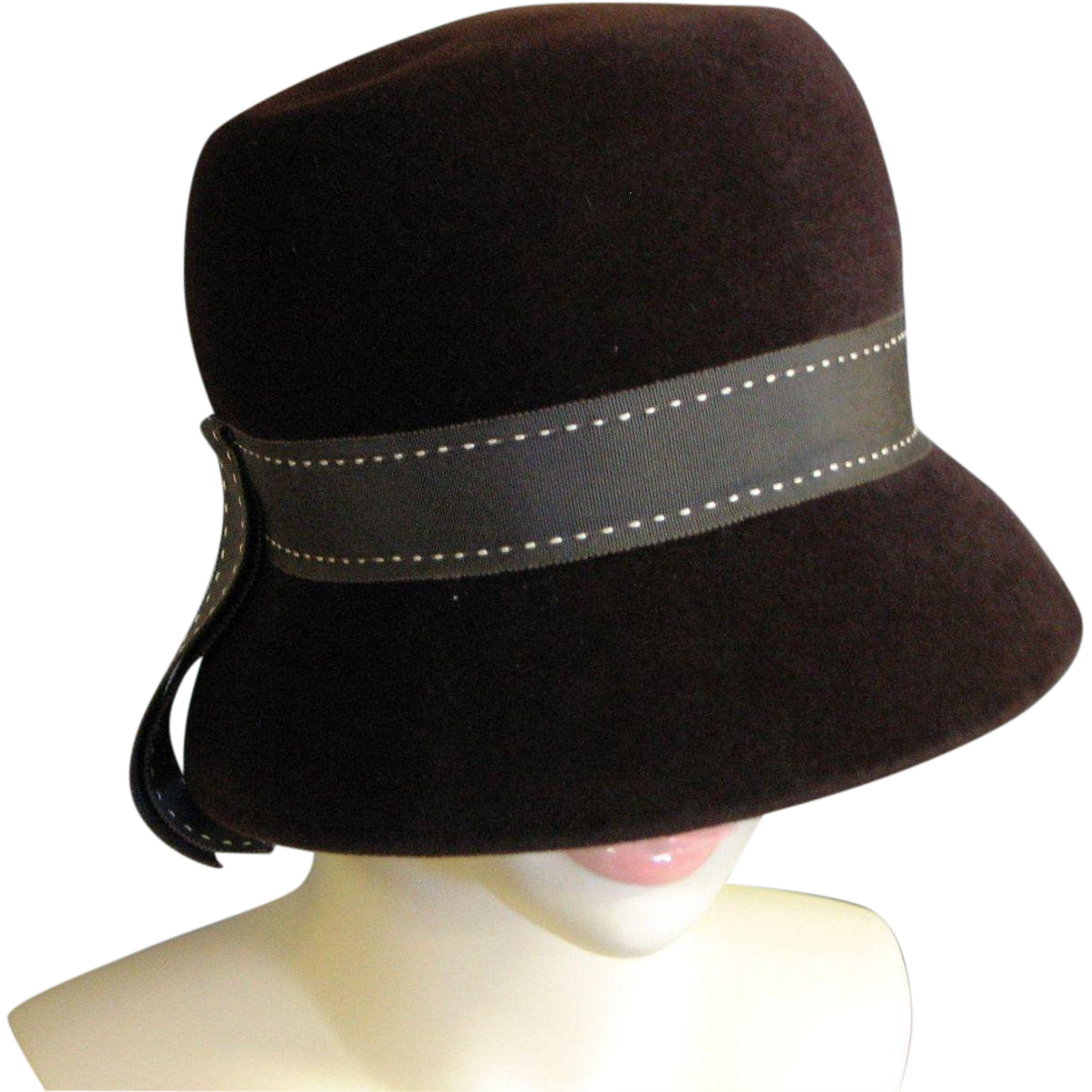 1960's Evelyn Varon Exclusive Wool Hat SOLD on Ruby Lane