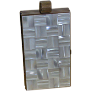 SALE   Mother of Pearl Minaudiere/Necessair