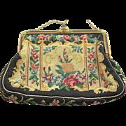 Outstanding Vintage Austria Tapestry Bag