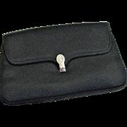 Vintage MM Satin Party Clutch Bag