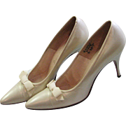 Beautiful 1960's High Heel D`Antonio Shoes