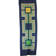 Beautiful Geometric Paoli Scarf
