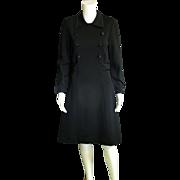 High End Torino of Italy Little Black Dress