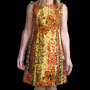 Vintage 1960's Kiyomi Hawaii Labled Dress