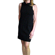 Vintage Little Black Dress From 1980's