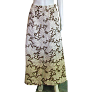 Vintage 1980's Nelly de Grab, New York Designer Party Skirt