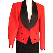 Great Men's Vintage Red Tux Jacket