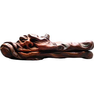 Antique Carved Walnut Jaba The Hut Nutcracker
