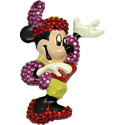 Collectible Vintage WENDY GELL Disney Minnie Mouse Brooch