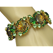 JULIANA DeLizza & Elster CATS EYE Vintage Bracelet