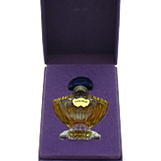 SHALIMAR Guerlain Paris France Vintage Parfum Perfume 1/4  FL OZ  Original Box