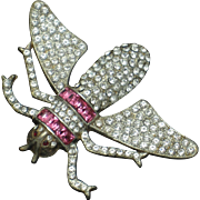 Very Rare REINAD Vintage 1930s Insect Figural Brooch