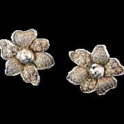 Theodor Fahrner Filigree Earrings