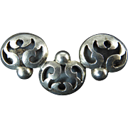 Mexican Silver Brooch by Victoria
