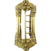 Exceptional Antique French Gilt Silver Buckle from the Early 19th Century