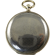 Antique Niello Locket Coin Purse