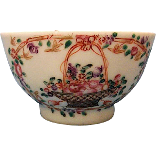 An Attractive Chinese Tea Bowl, c.1770
