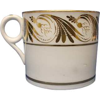 A Minton Coffee Can, pattern number, 542, c.1810