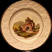 A David Wilson Creamware Dessert Plate, c.1815