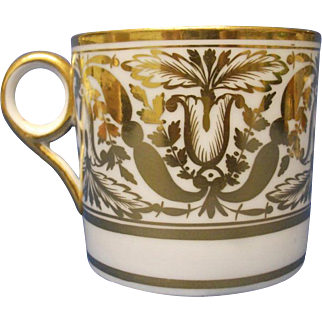 A Minton Coffee Can, pattern number, 547, c.1810