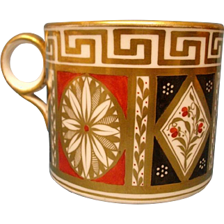 A Minton Coffee Can, pattern number, 90, c.1802