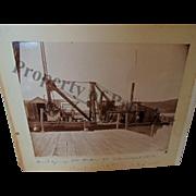 Antique Photo Building Harbor at Branchport NY Keuka Lake Historical