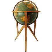 1950s Globe Stand Mid Century Modern Wormley for Dunbar Attributed