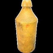 Rare Stoneware Beer Bottle c1870 Avery Lord - Utica, NY