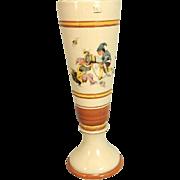 Antique Mettlach Beer Pilsner Tumbler H. Schlitt Style Gnomes Elves