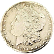 1890 Morgan Silver Dollar Philadelphia Stunning Condition