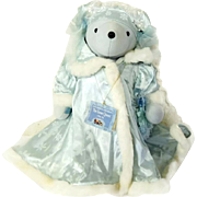 Snow Queen Teddy Bear NABCO Hans Christian Anbearsen VIB Collection Limited Number