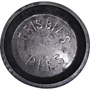 ORIGINAL Frisbie Pie Tin Frisbie Pie Pan EARLY
