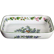 NEVER USED Royal Worcester Herbs Rosemary Oven Baker Casserole Vintage